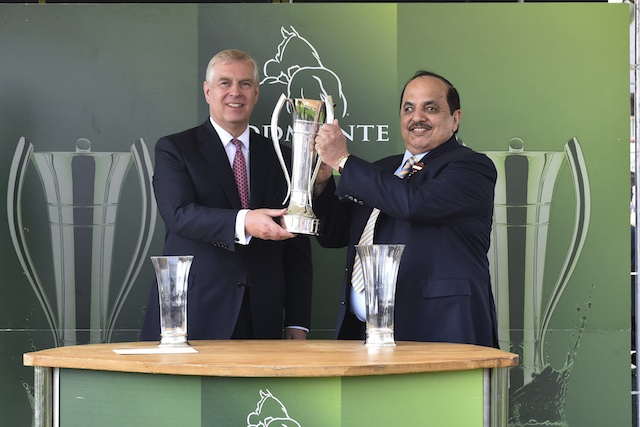 Royal Patron to present trophy for Juddmonte International