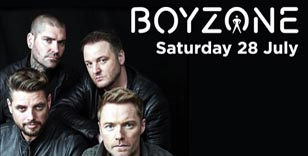 Act fast to secure Stands Side Admission for Saturday 28 July with racing and Boyzone!