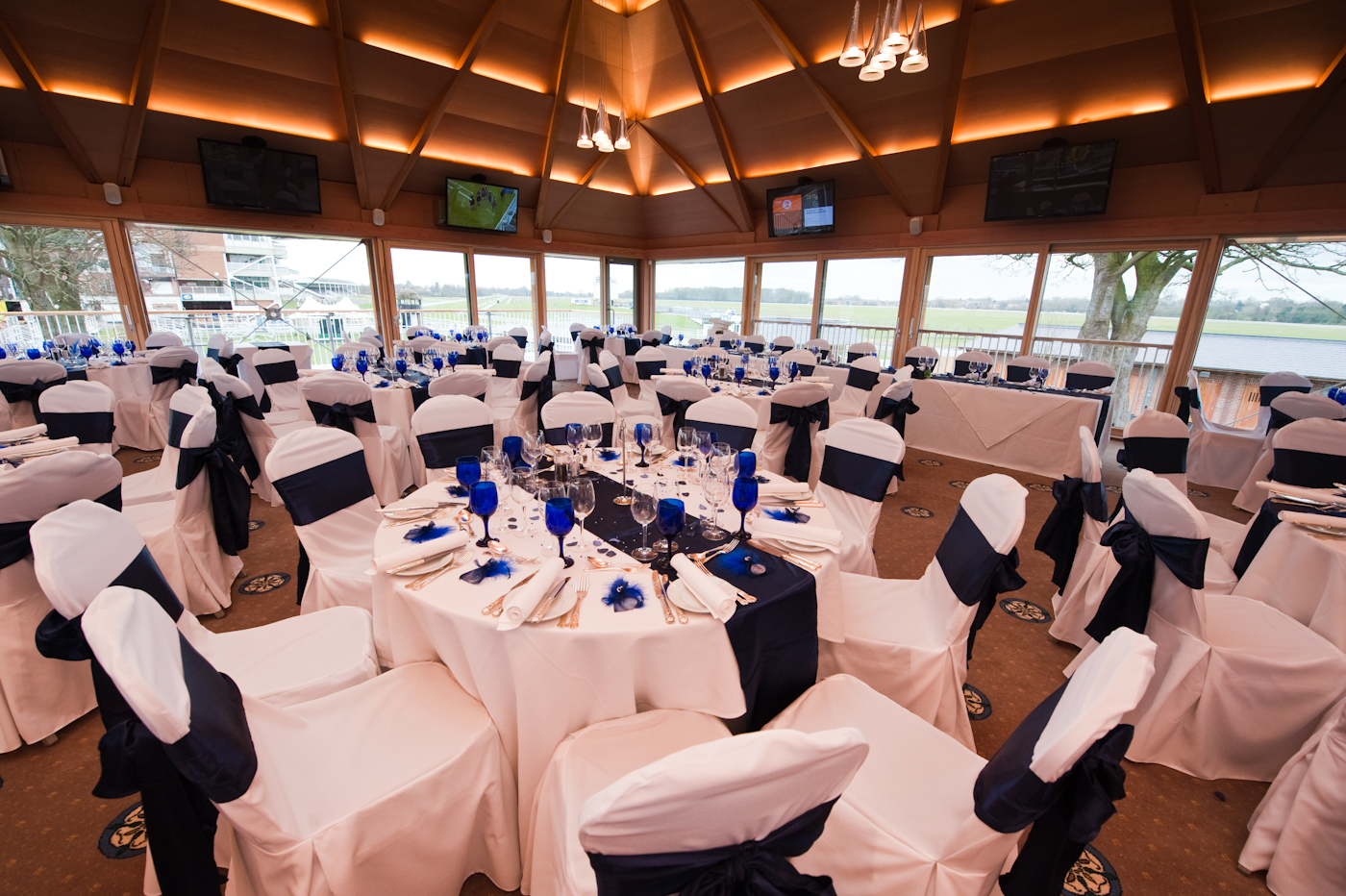 With Its Light Airy Almost Panoramic Views It Is An Ideal Location For A Very Special Wedding Day Experience Please Ask Details Of Our Parade Ring